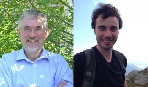 Andre Farrar (left) and Brendan Costelloe